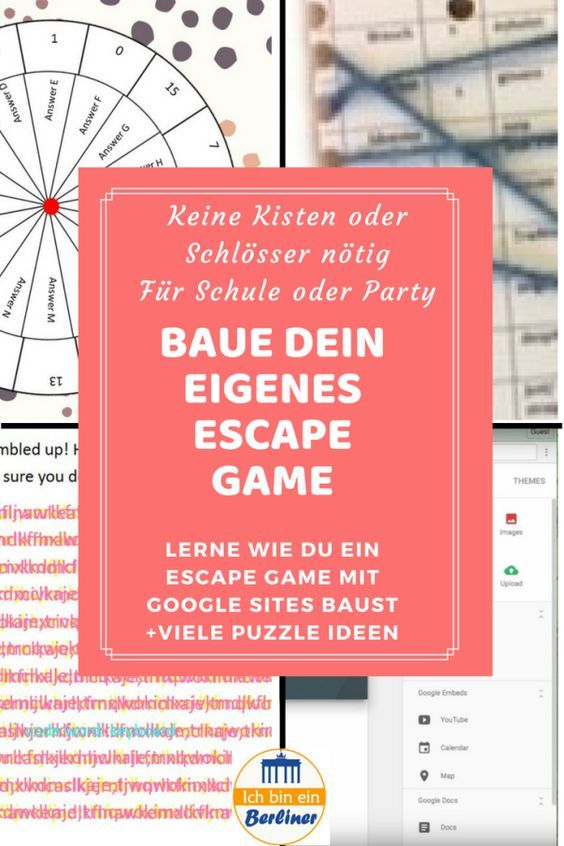 Escape Rooms im Unterricht #gamingrooms