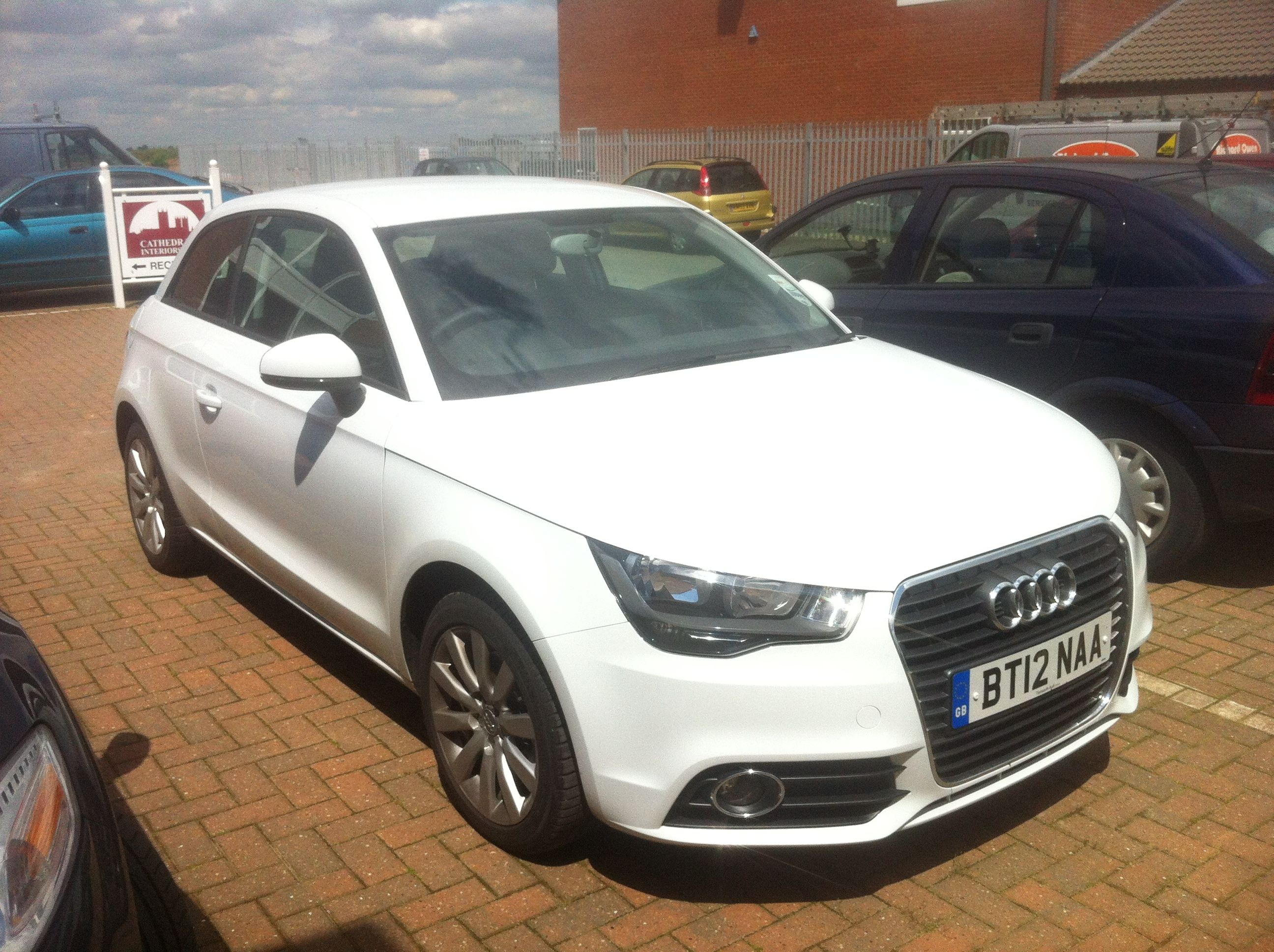 Audi A1 Carleasing Deal Looking Loverly In Glacier White For