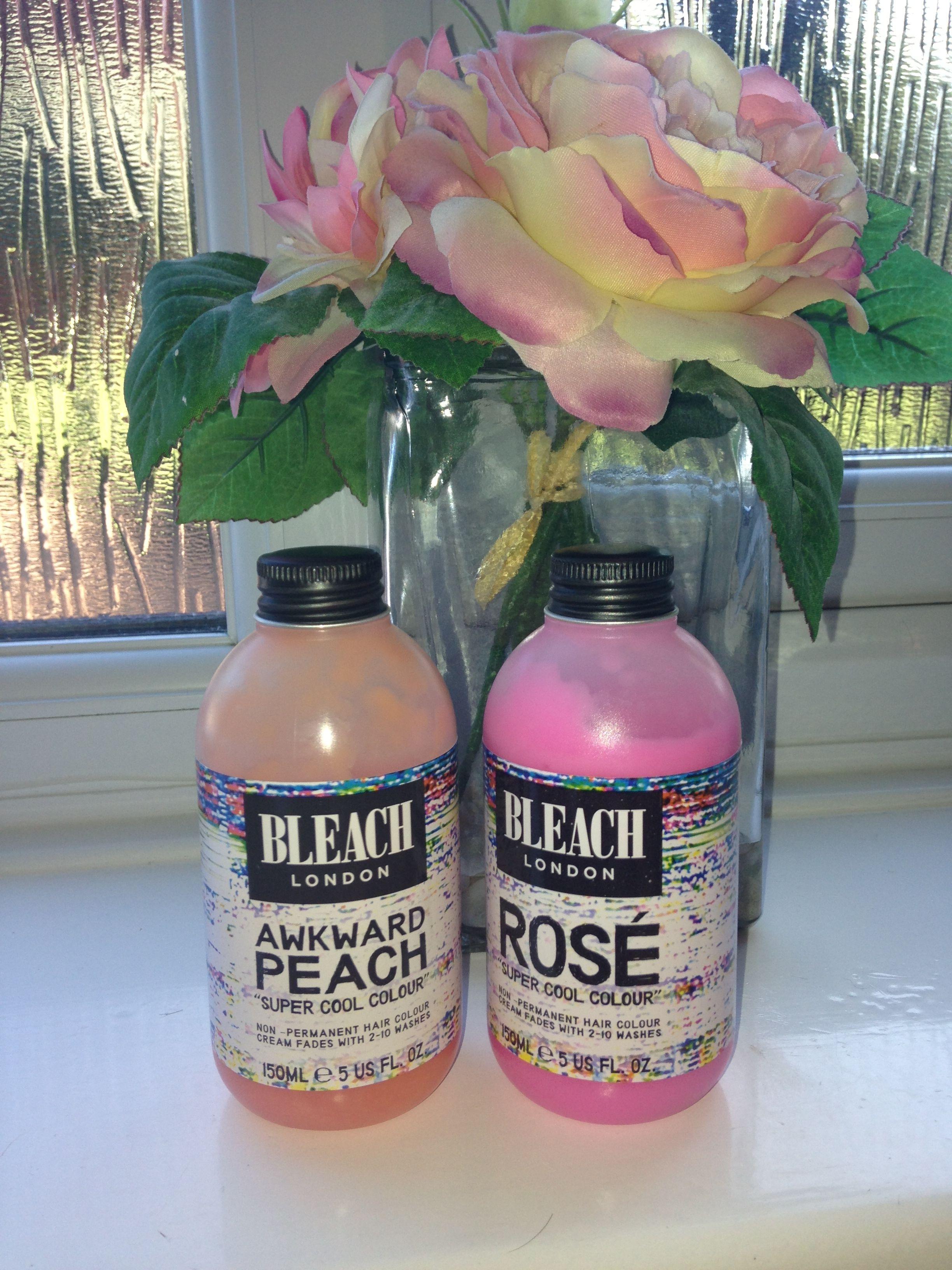 Bleach London Super Cool Colour Dye Review u Awkward Peach  Makeup