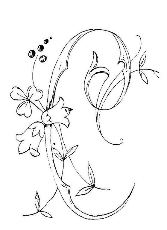 El mundo de Gertru: Para bordar   patrones letras   Pinterest ...