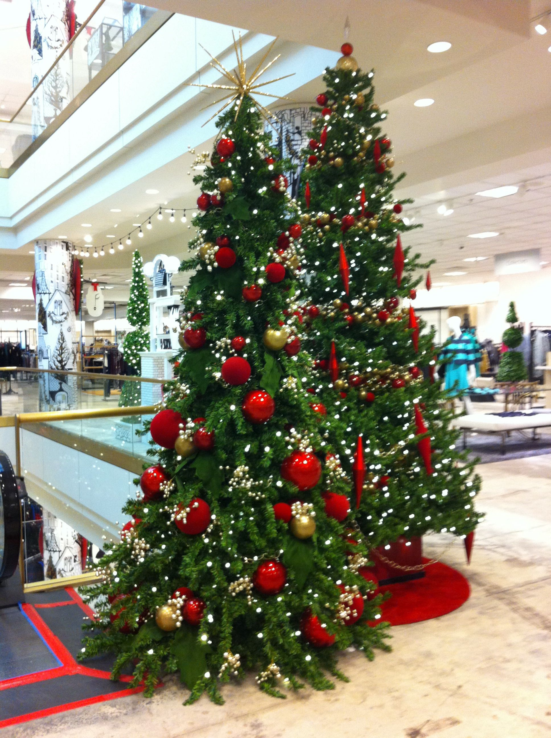 Beautiful trees. Nordstrom, Valley Fair Mall in Santa Clara ...
