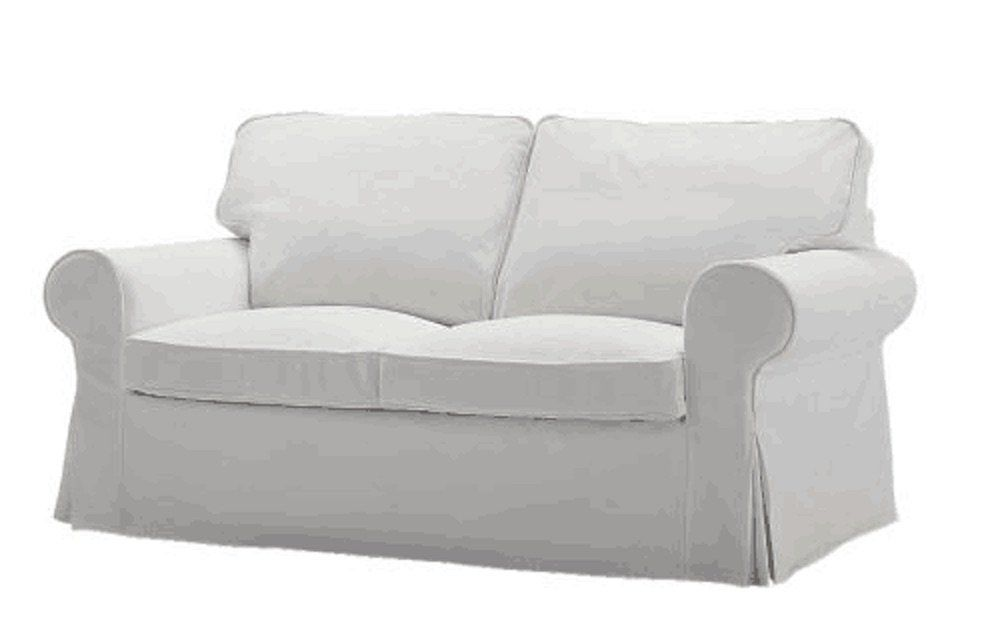 Pleasing The Ektorp Two Seater Sofa Bed Cover Durable Heavy Cotton Creativecarmelina Interior Chair Design Creativecarmelinacom