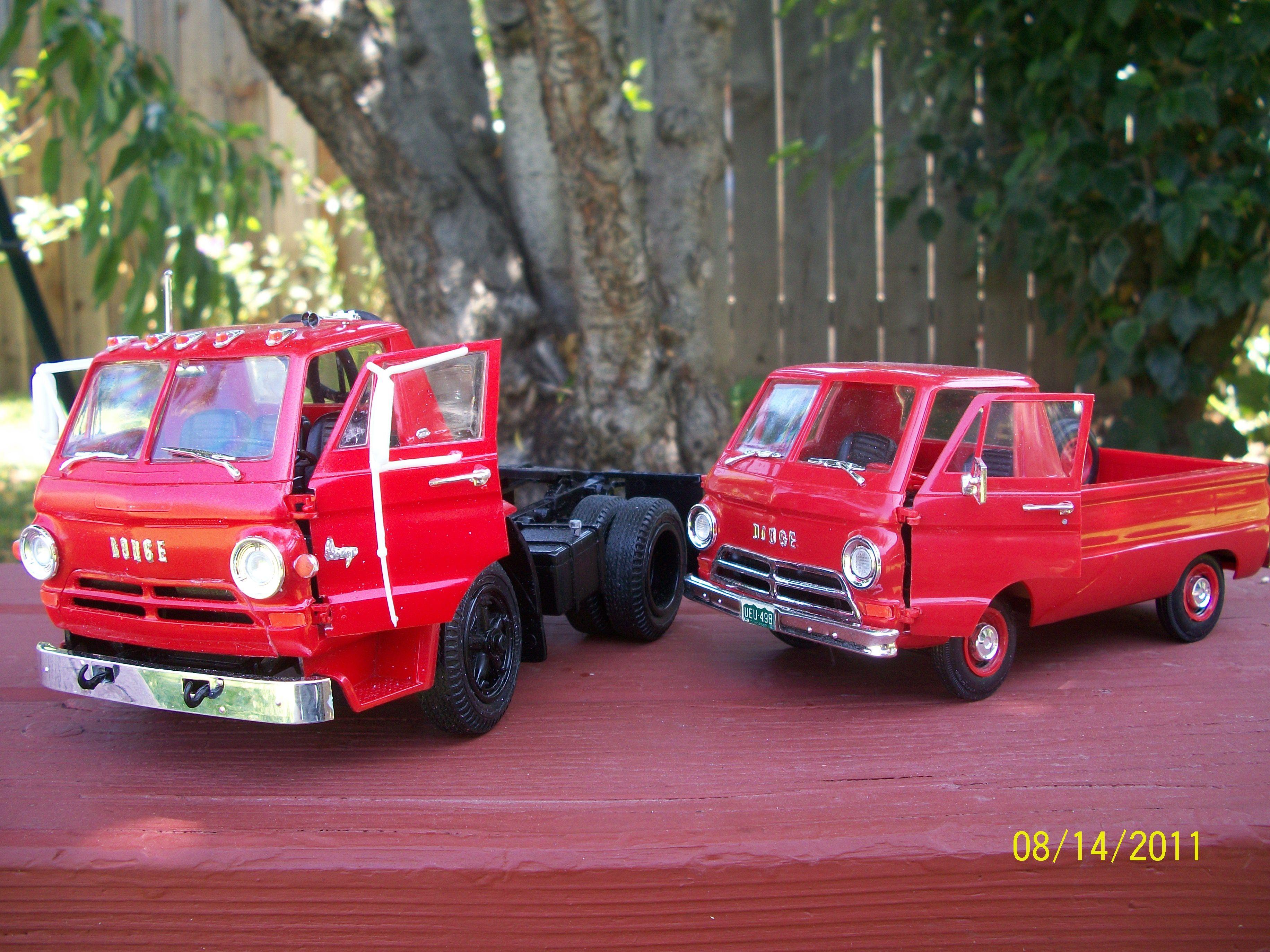 Dodge model trucks 1/25 scale. | Model cars & trucks ...