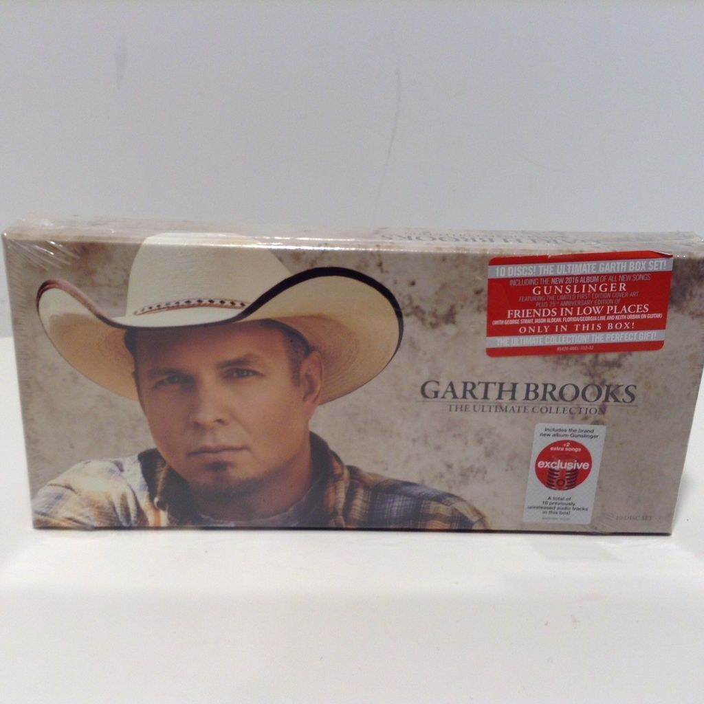 Garth Brooks The Ultimate Collection 10 Disc Set Brand New Garth Brooks Garth Ultimate Collection