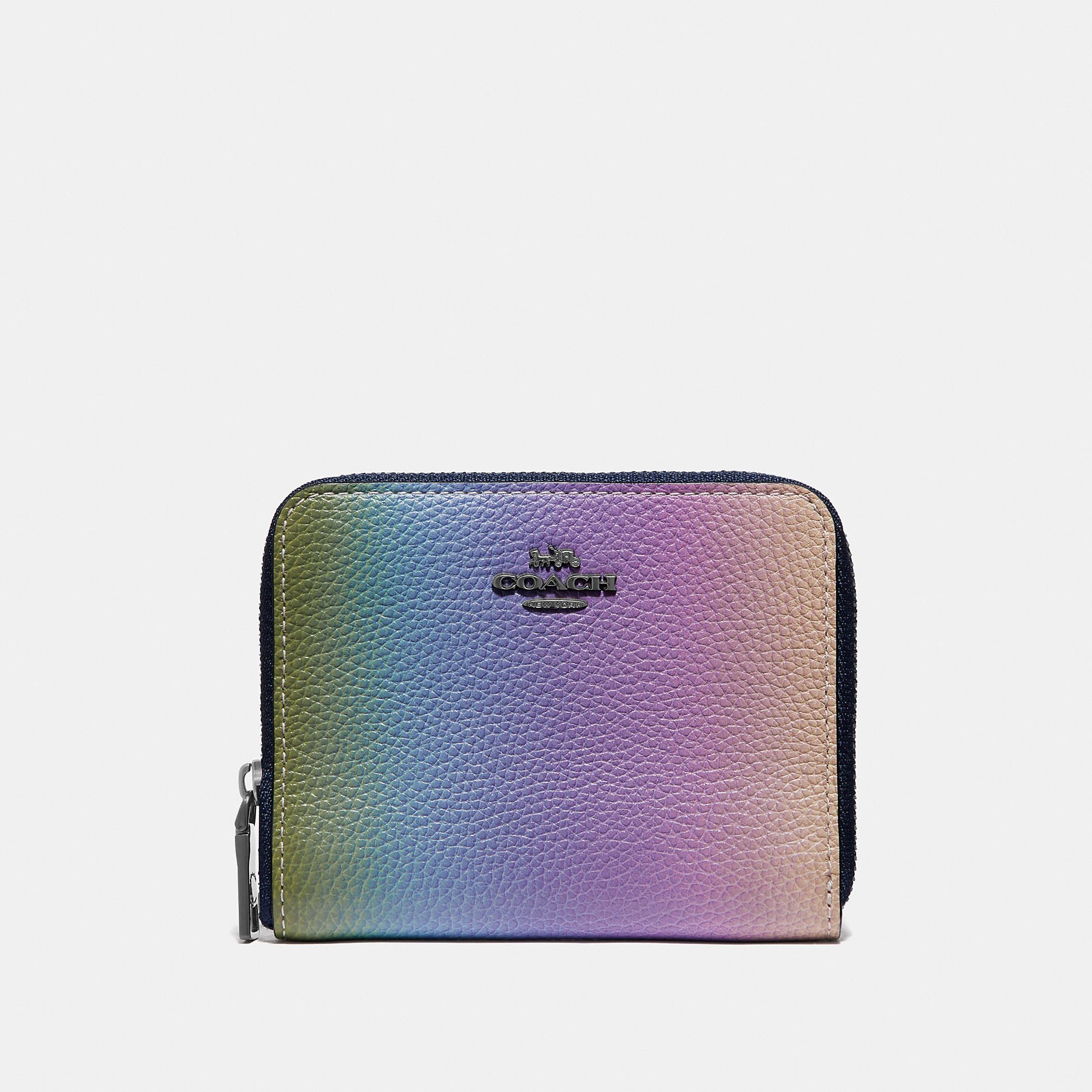 f6f67cc9ae Small Zip Around Wallet With Ombre in 2019 | Products | Zip around ...