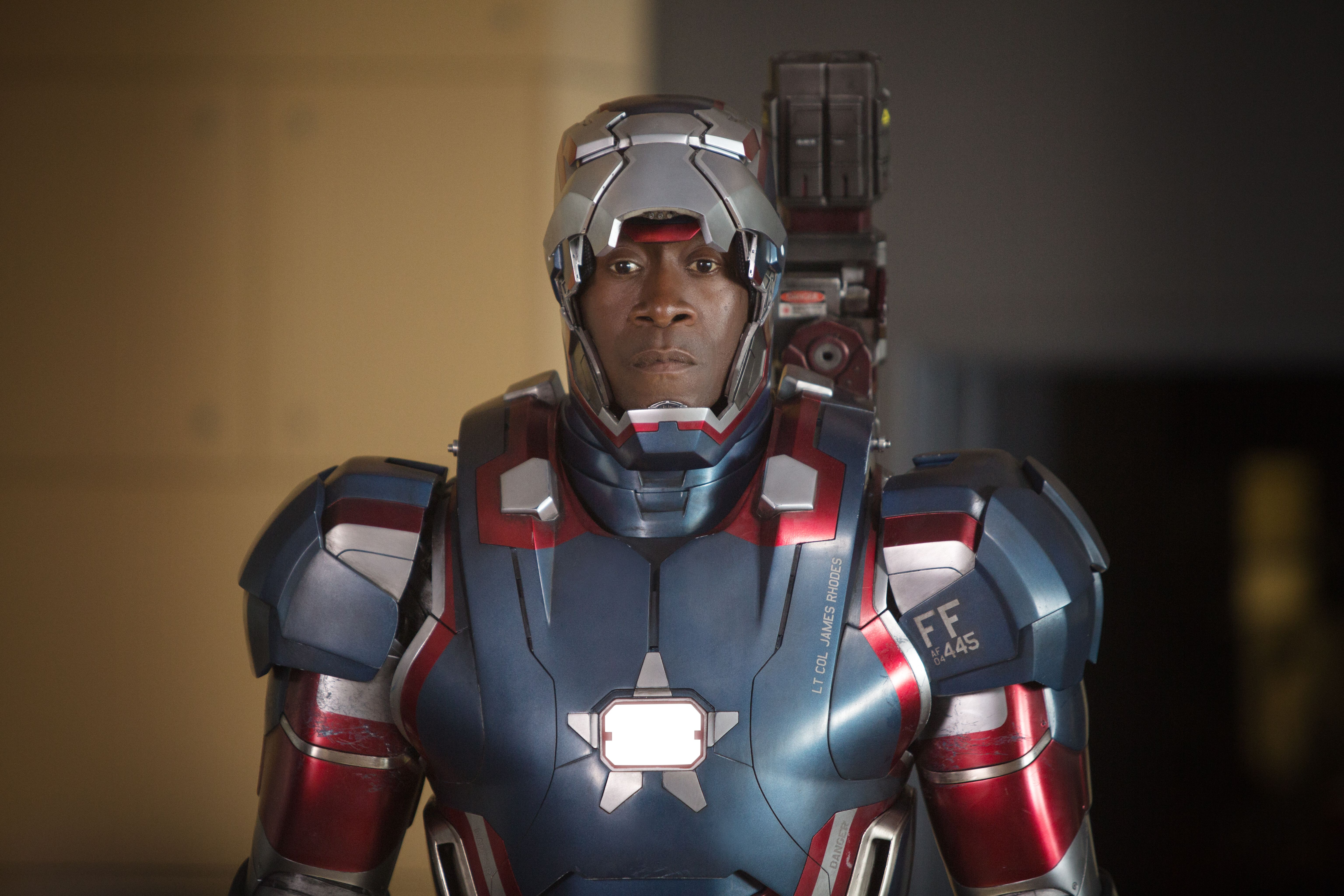 Iron Man 3 Suit Patriot Iron Man 3 - Lt. Col. ...