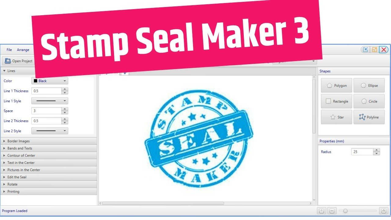 How to download/install Stamp Seal Maker 3 Free in 2020