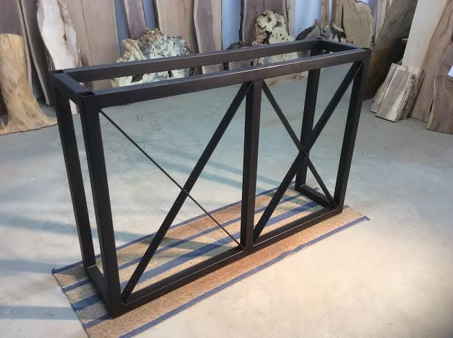 Genial STEEL BAR TABLE LEGS. BAR TABLE BASE. BAR TABLE