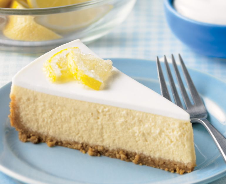 Lemony Sour Cream Cheesecake Recipe In 2020 Cheesecake Recipes Sour Cream Cheesecake Daisy Sour Cream