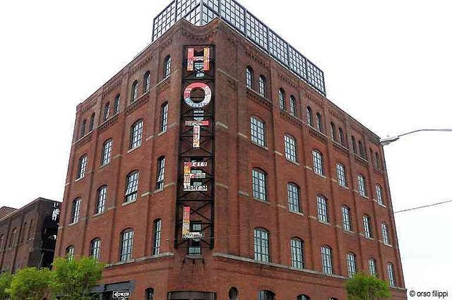 The Wythe Hotel In Williamsburg Brooklyn Ny Was An Ancienttextile Factory Is Converted Into