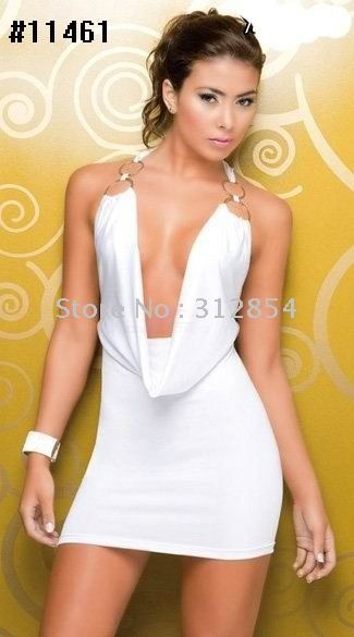 Solid-White-Sequined-Women-Cocktail-Dresses-Sleevless-Backless ...