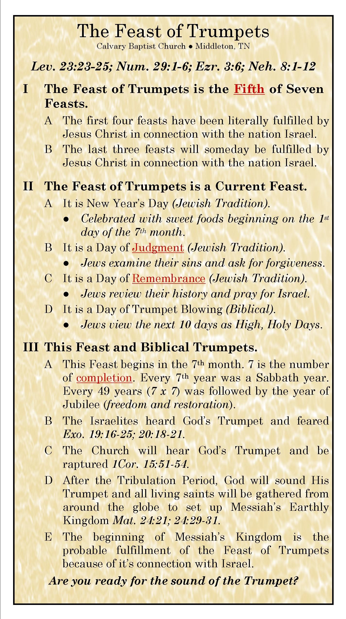 What are the different Jewish festivals in the Bible?