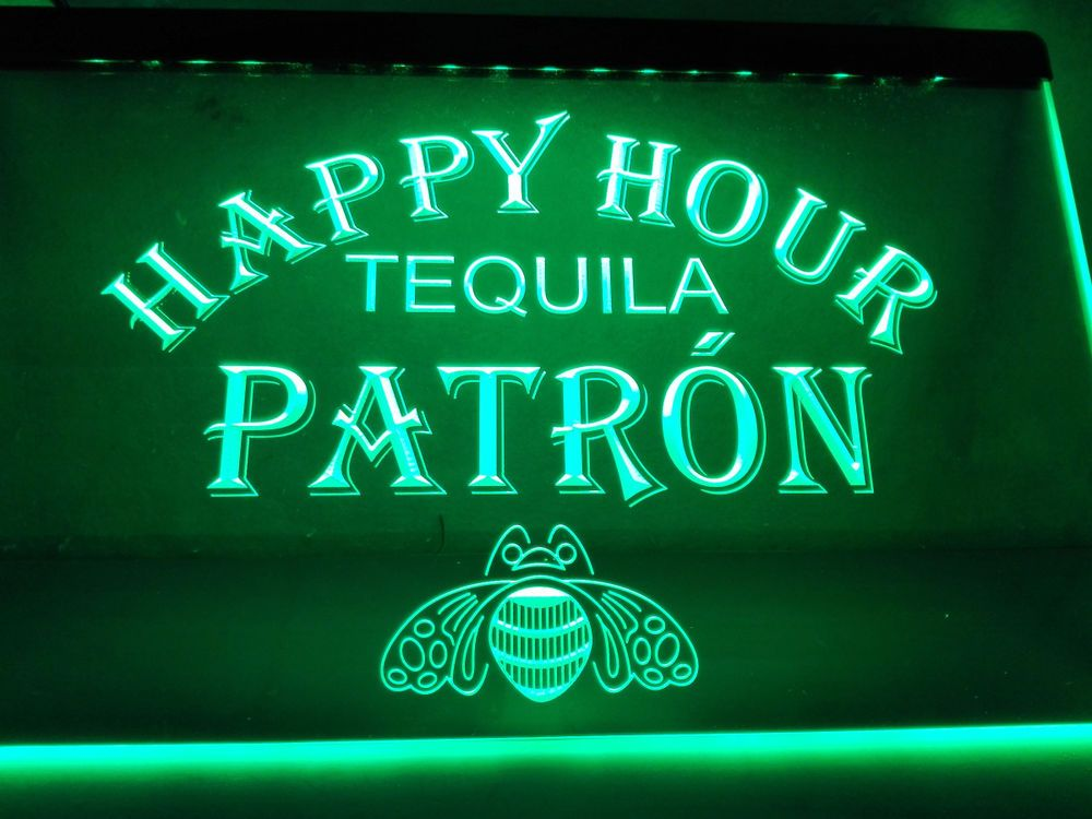 La633 patron tequila happy hour bar light sign sign light neon bar la633 patron tequila happy hour bar light sign sign light neon bar beer aloadofball Image collections