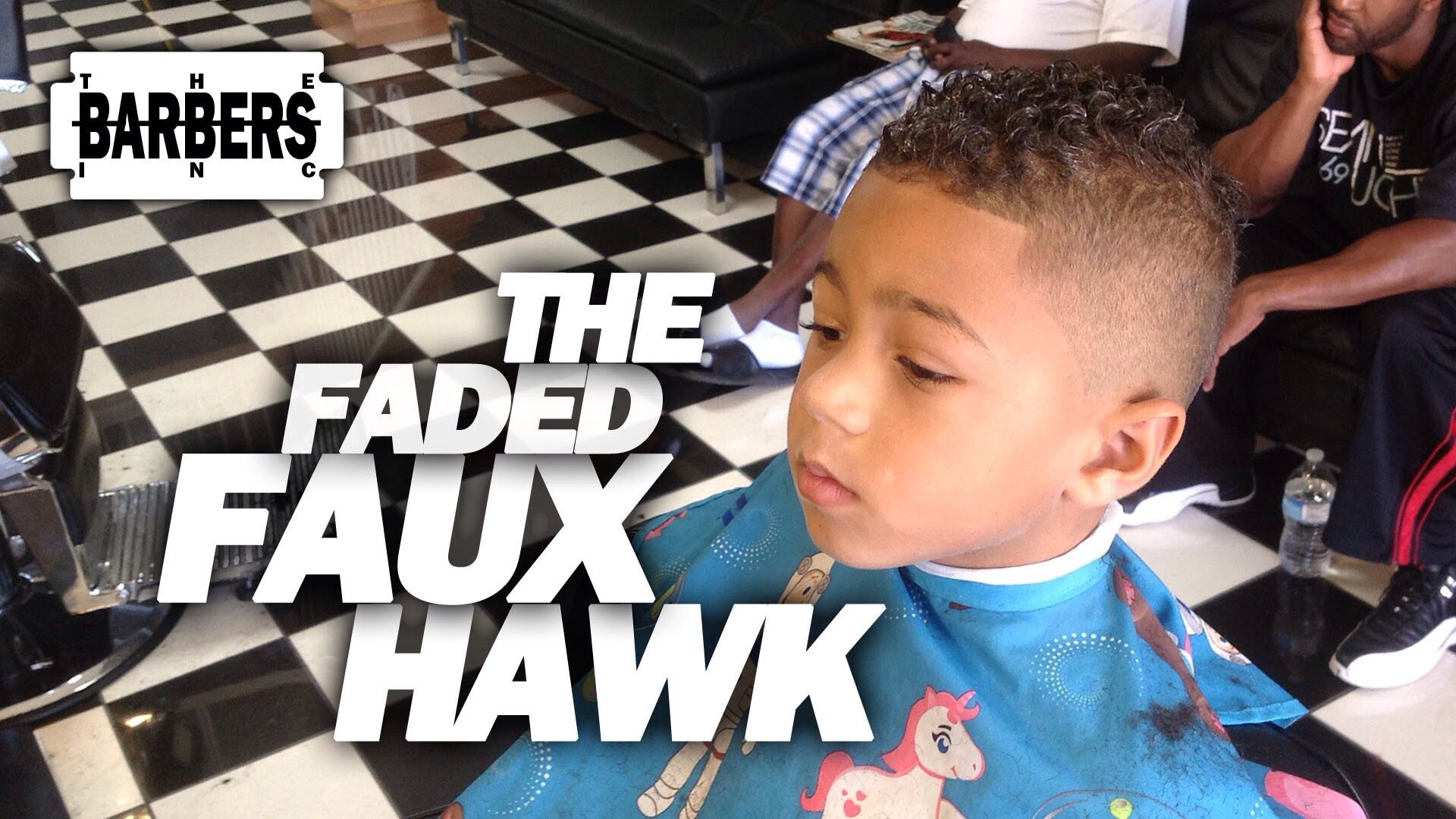 biracial boy hair style mohawk | as the curl turns | black