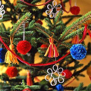 Adornos para decorar el rbol de navidad manualidades - Decoracion de arboles navidenos para ninos ...