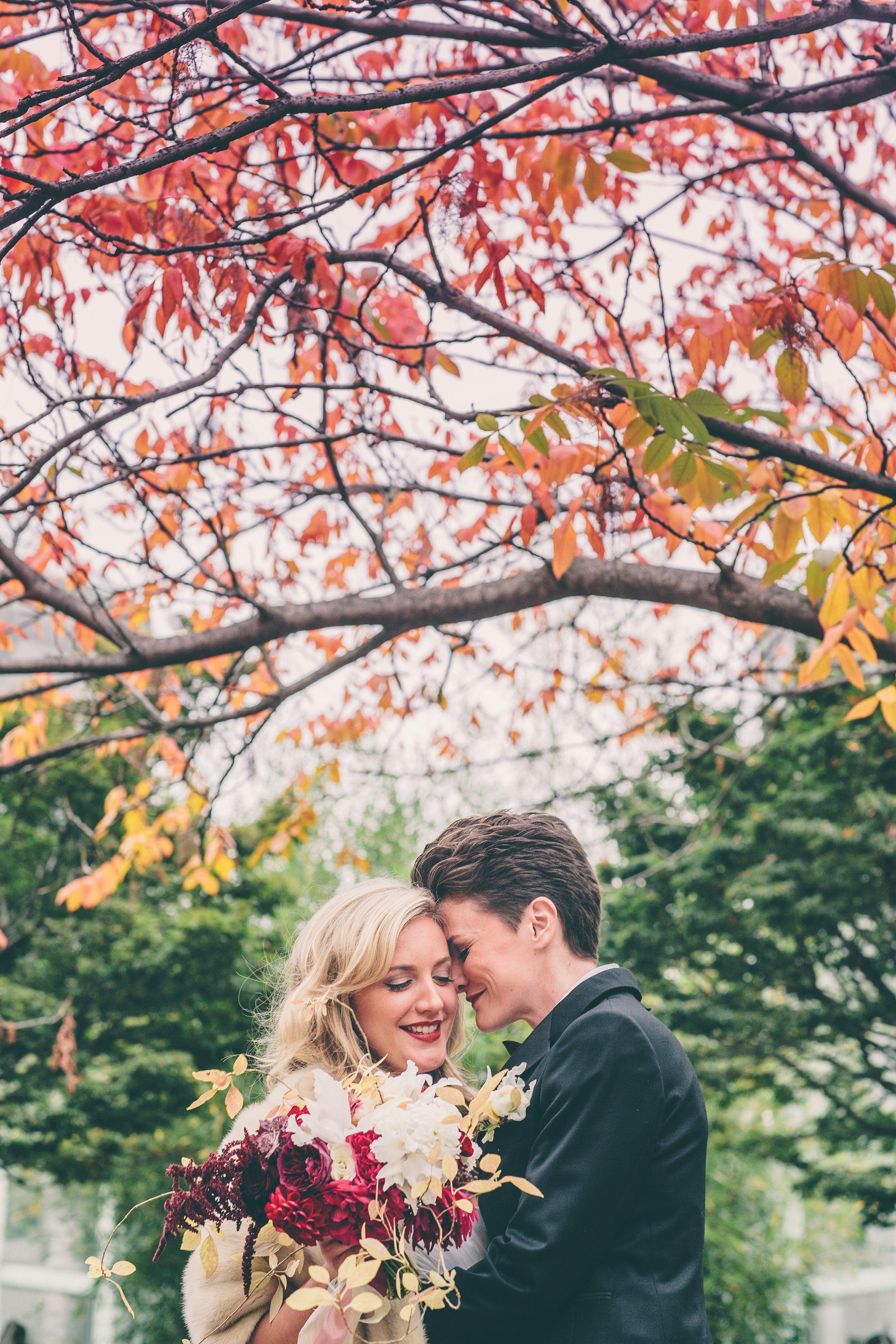 A Brooklyn Botanical Garden Wedding in Brooklyn, New York