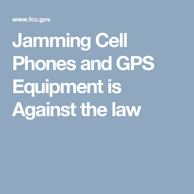 Cell phone jammers fcc - cell phones jammer in schools