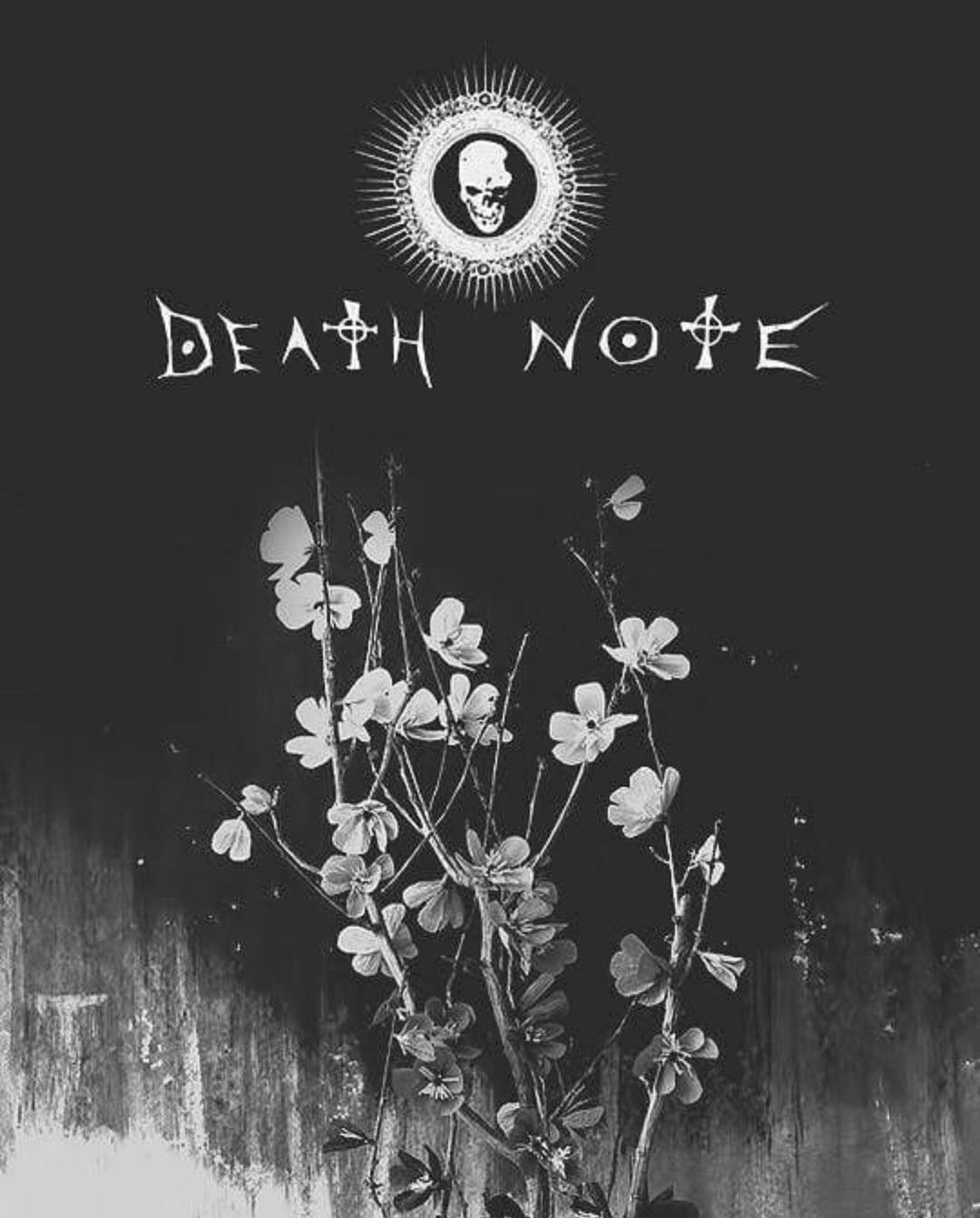 Pin by aim www on Wallpapers Death note wallpaper iphone