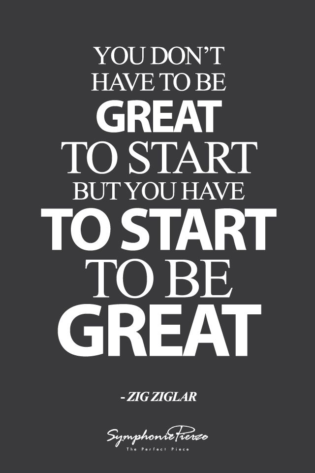 Image result for be great at what matters quote