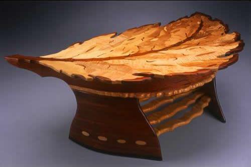 Nice Coffee Table By Bronk Art