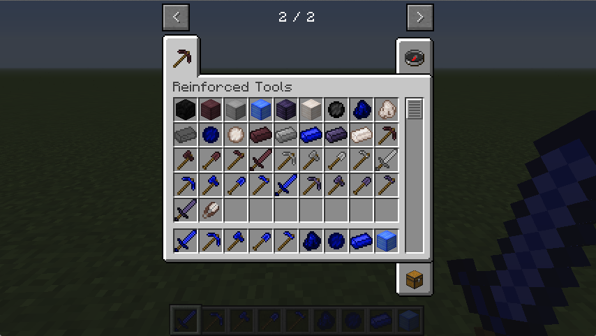 Reinforced Tools Mod | Minecraft 1 13 Mods