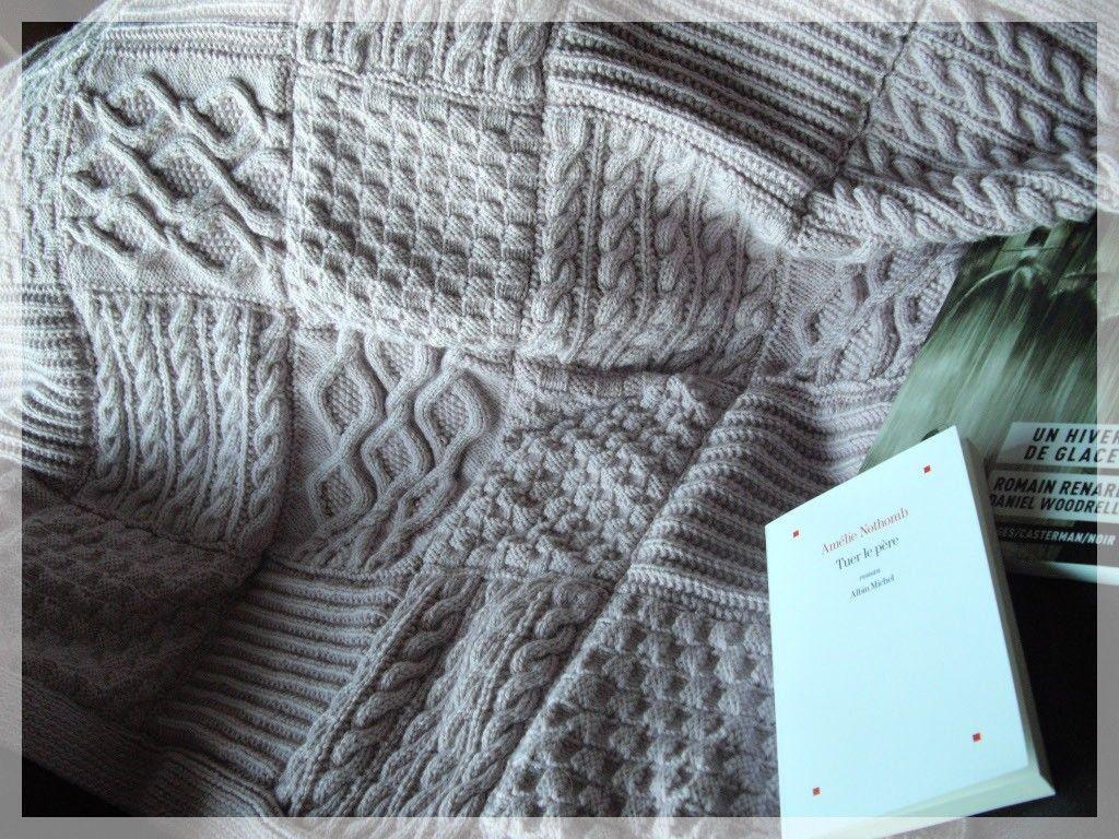 plaid tricot modele gratuit