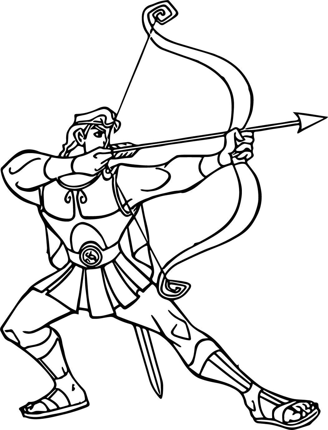 Геракл картинки как нарисовать