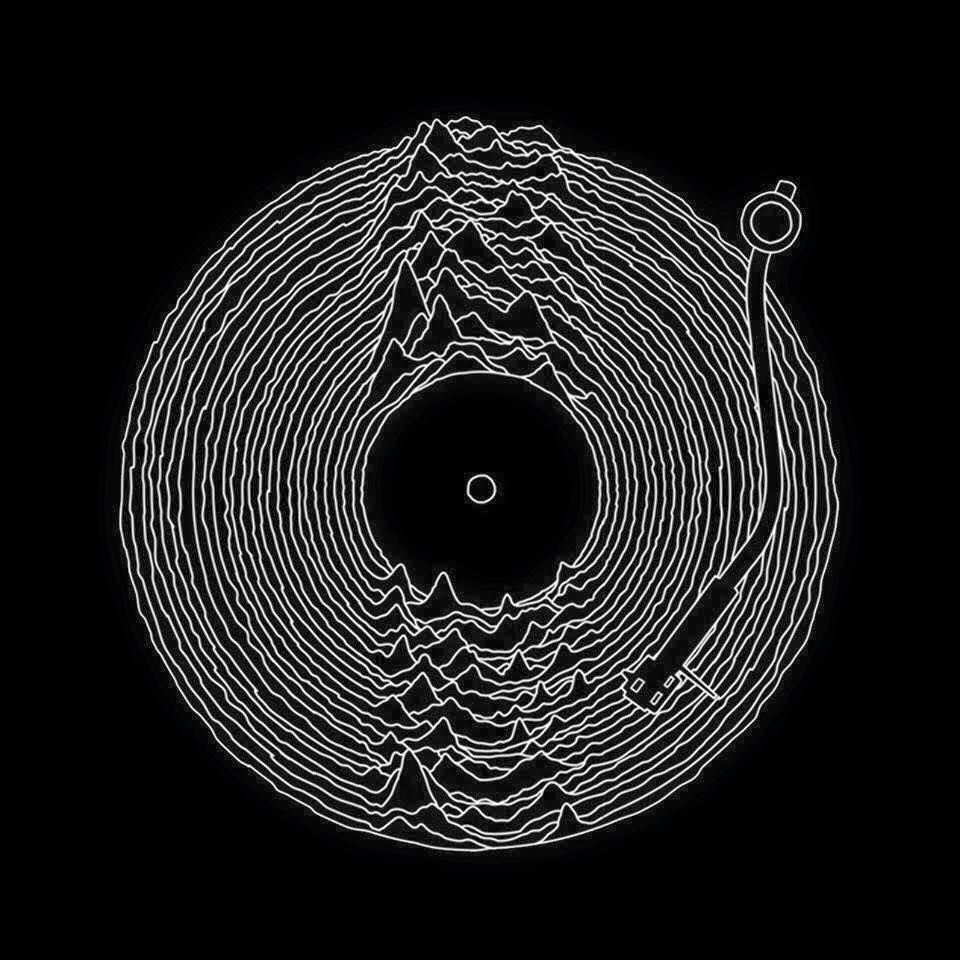 Joy Division Unknown Pleasures Japanese Red Tröja | Teezily