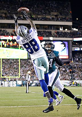Dez Bryant With A Career High 3 Td S Vs Eagles In Huge 38
