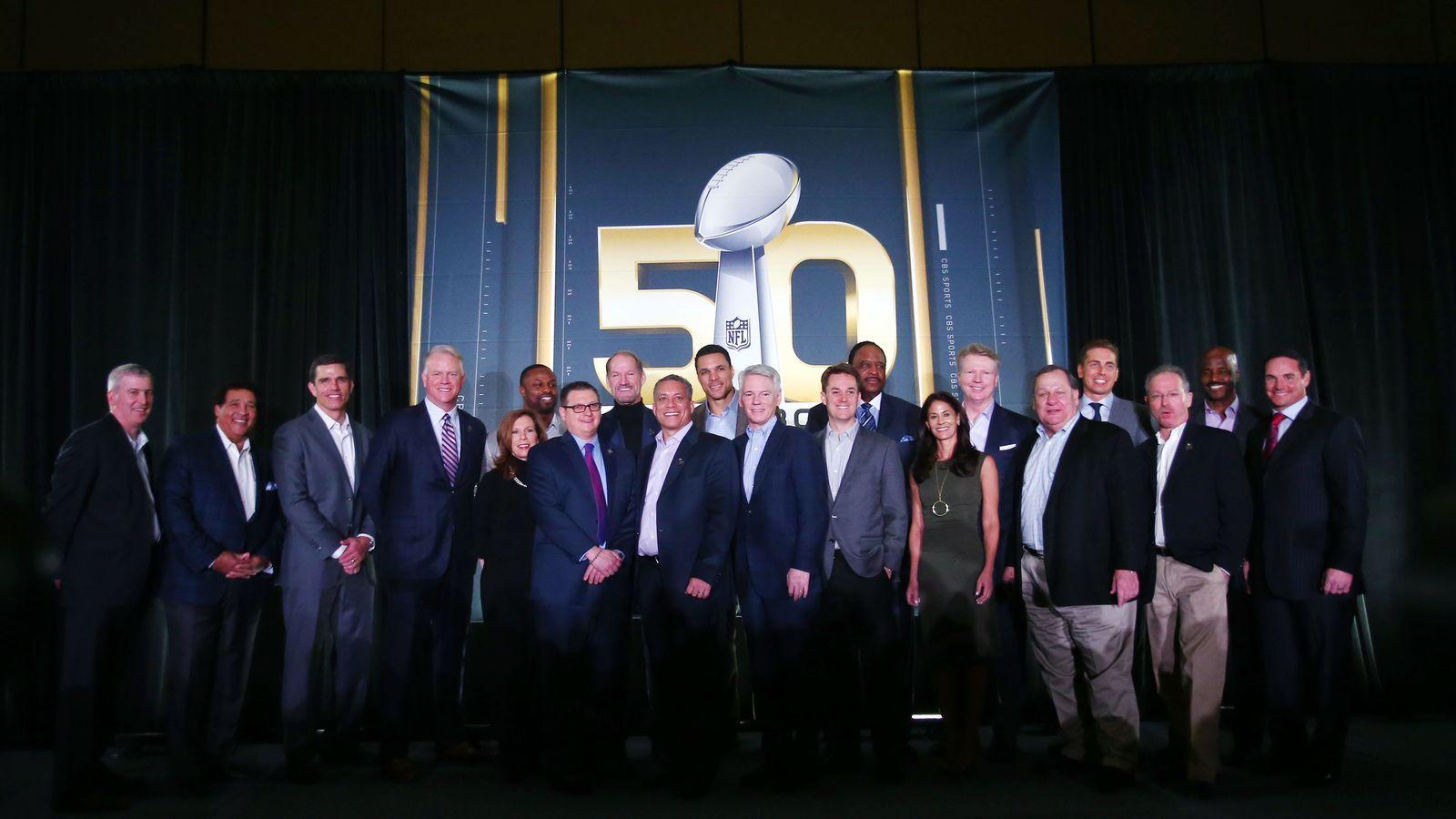CBS, NFLN, ESPN pregame show lineup for Super Bowl Super