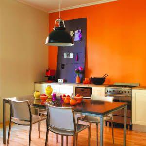 Cocinas naranja color mandarina tango blogs de l nea 3 - Cocinas pintadas fotos ...