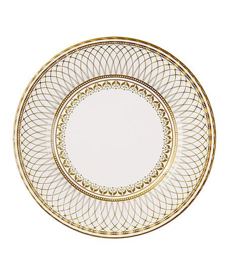 These paper plates are decorated with a fine china-inspired pattern to add simple elegance  sc 1 st  Pinterest & These paper plates are decorated with a fine china-inspired pattern ...
