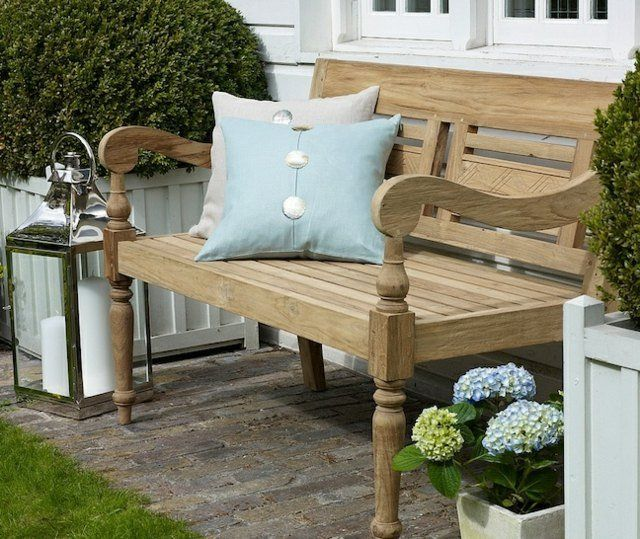 petit banc de jardin en bois pierre ou m tal 52 id es tendance petit banc bancs de jardin. Black Bedroom Furniture Sets. Home Design Ideas