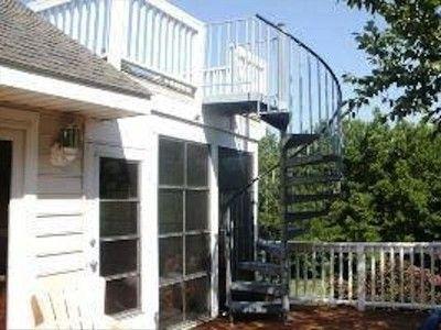 Vrbo Com 400517 Tiny Beach House Outdoor Stairs Beach House Deck