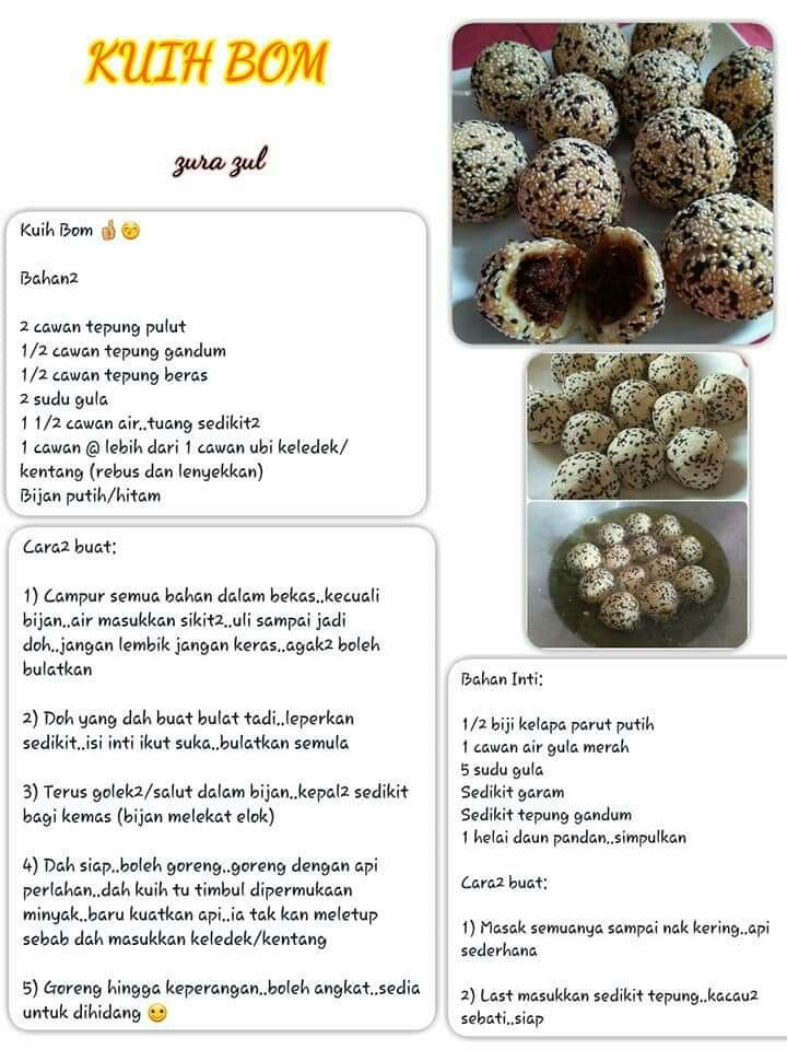 Pin by art's kitchen on kuih muih | Foods, Recipes, Vegetables