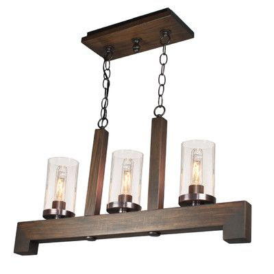 Artcraft Lighting Jasper Park 3 Light Kitchen Island Pendant