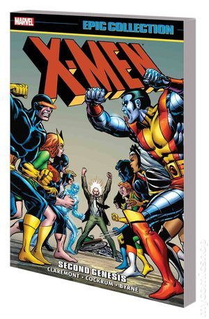 X Men Second Genesis Tpb 2017 Marvel Epic Collection 1 1st Hombres X Dia Del Orgullo Friki Ciclope X Men