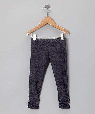 Take a look at this Denim Bea Leggings - Infant, Toddler & Girls by Sweet Jewelea on #zulily today!