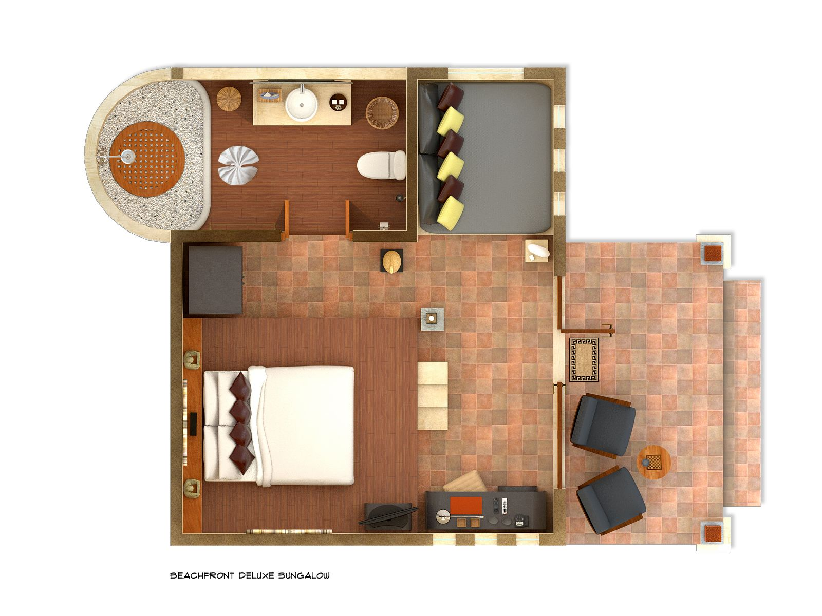 Beach bungalow floor plans google search home for Bangalo design