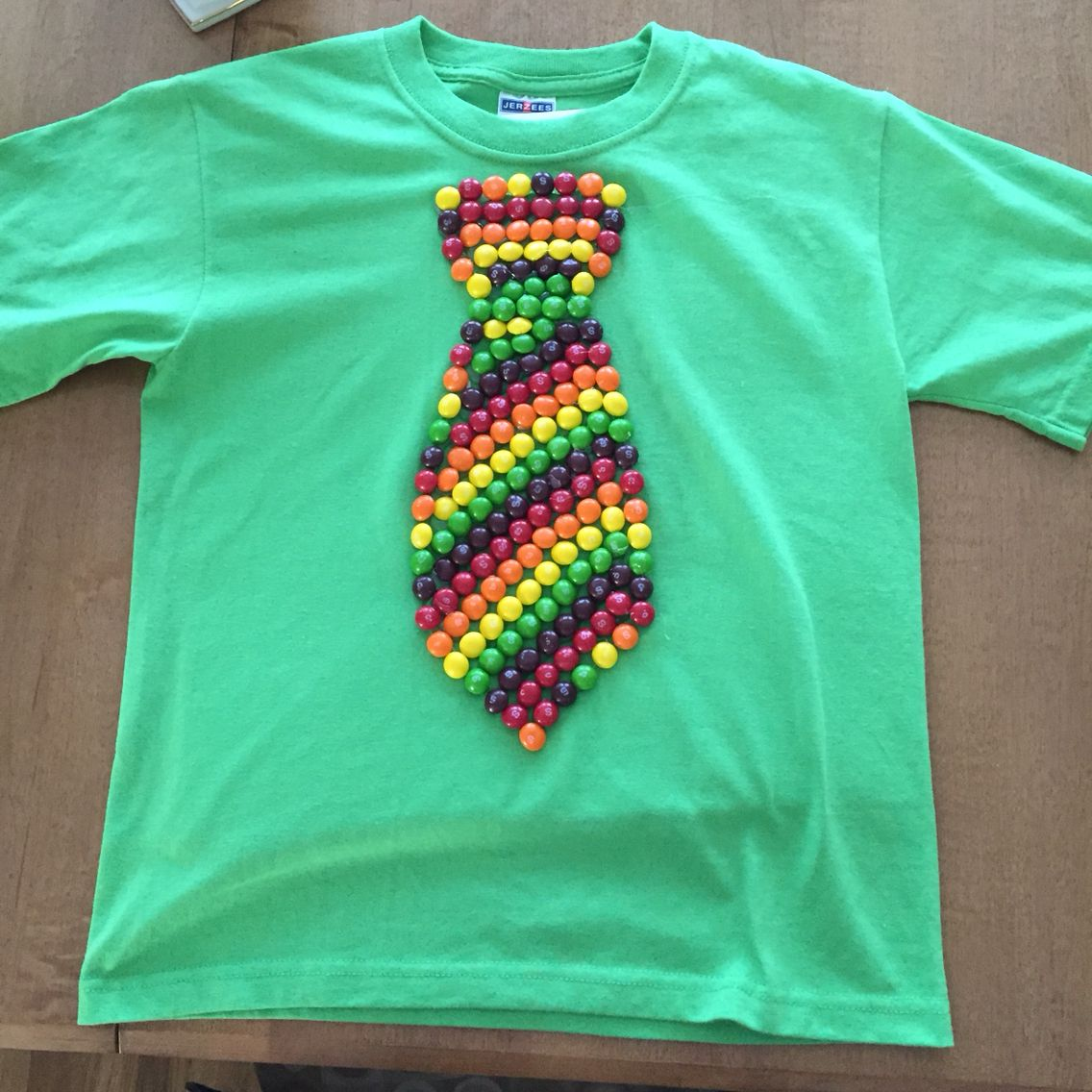 100 Day Of School Shirt The Skittle Tie School Tshirts 100 Day