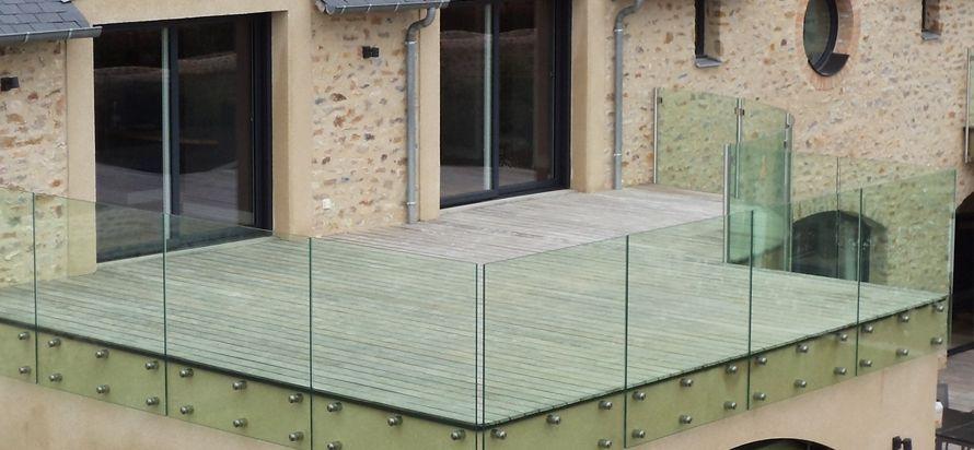 Garde corps - non !! projet terrasse Pinterest