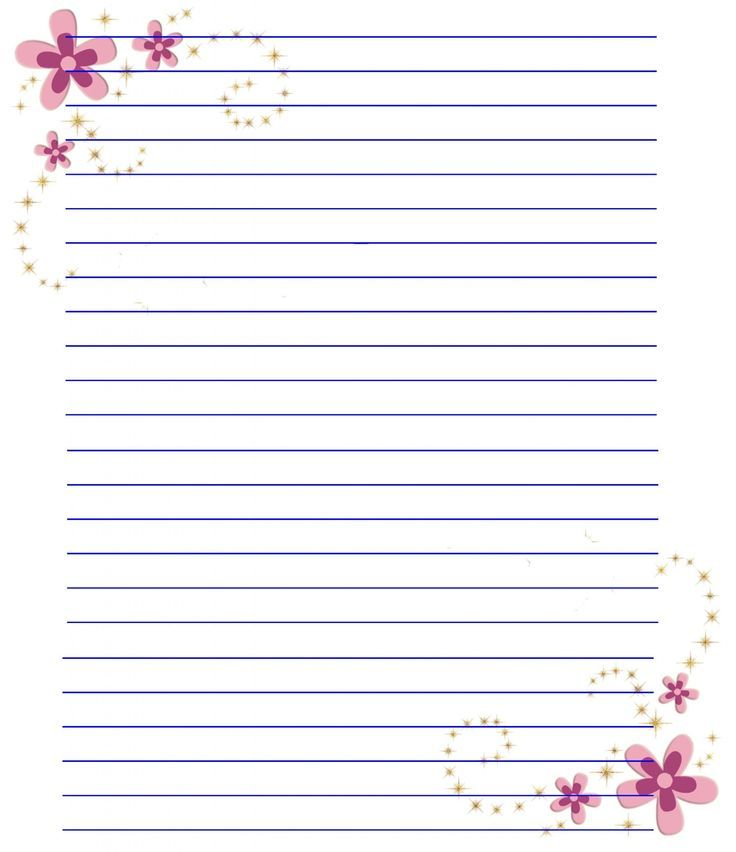 Invaluable image pertaining to free printable lined stationary