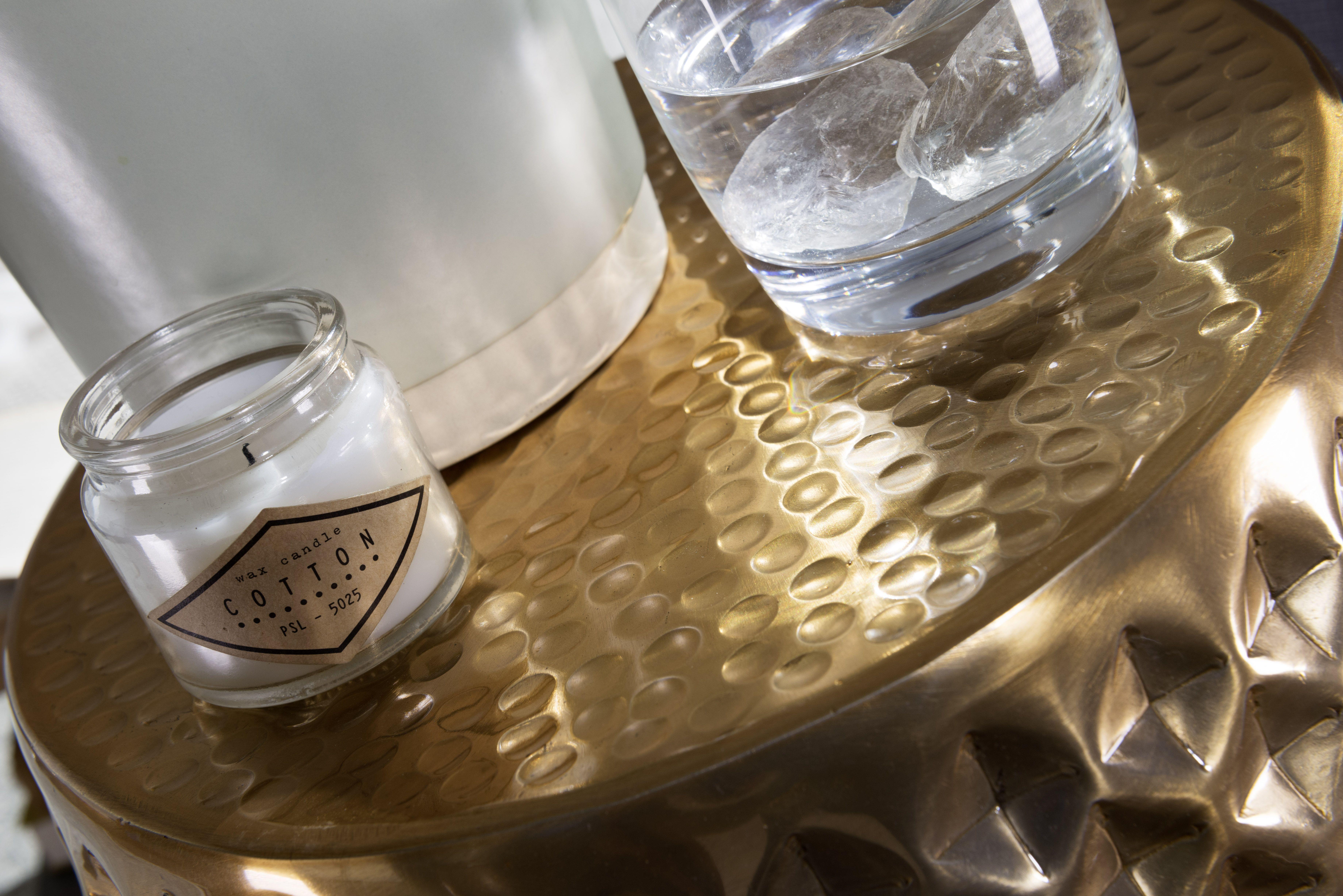 Wohnling Beistelltisch Sita Gold Wl5 450 Aus Aluminium
