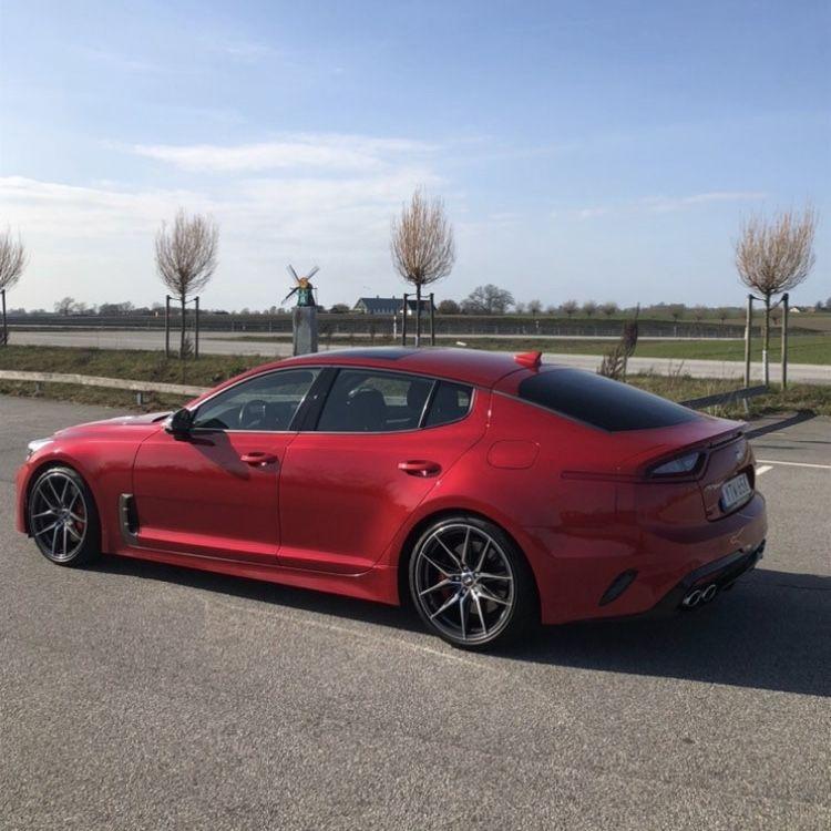 Hi Chroma Red in 2020 Kia stinger, Kia optima, Sport cars