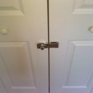 Ordinaire Key Lock For Sliding Closet Doors | Small Bedroom | Pinterest | Closet Doors,  Sliding Closet Doors And Folding Closet Doors