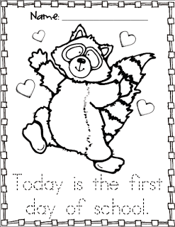 Chester Raccoon Coloring Sheet Freebie cool classrooms