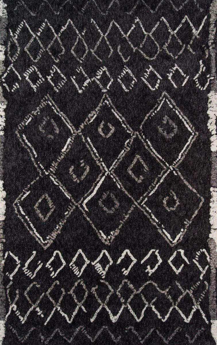 Momeni Margaux Mgx 3 Black Area Rug African Rugs Black