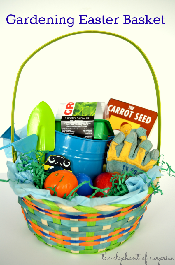 Easter basket garden ideas images gift and gift ideas sample top 10 no candy themed easter basket ideas garden tools top 10 no candy themed easter negle Gallery