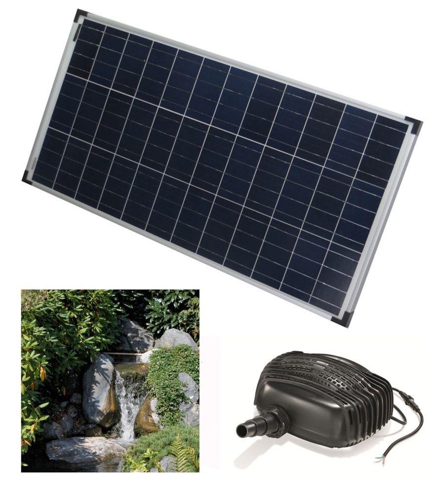 80 W Solar Pumpe Teich Solar Wasserfall Bachlauf Pumpe Gartenteich Springbrunnen Outdoor Decor Roof Solar Panel Solar