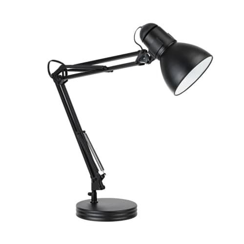 desk lighting solutions. Globe Electric 5698601 Architect 1 Boom Arm Desk Lamp, Black Lighting Solutions